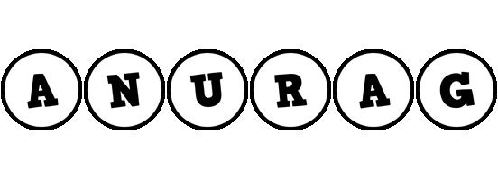 Anurag handy logo