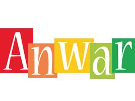 Anwar colors logo