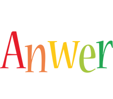 Anwer birthday logo
