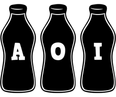 Aoi bottle logo