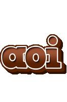 Aoi brownie logo