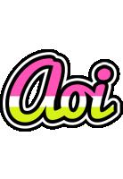 Aoi candies logo