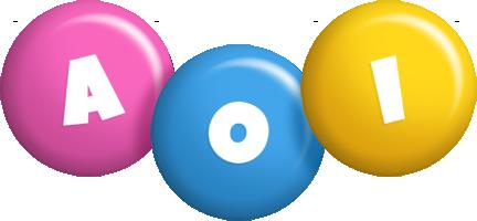 Aoi candy logo