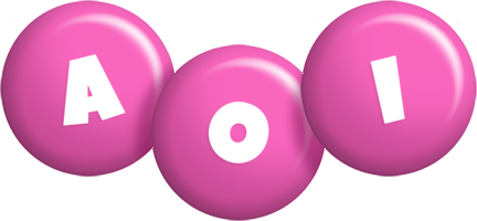 Aoi candy-pink logo