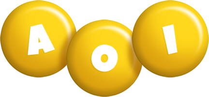 Aoi candy-yellow logo