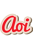 Aoi chocolate logo