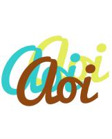 Aoi cupcake logo