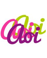 Aoi flowers logo