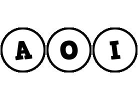 Aoi handy logo