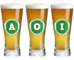 Aoi lager logo