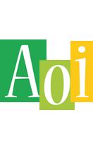 Aoi lemonade logo