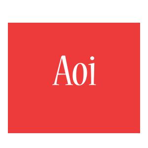 Aoi love logo