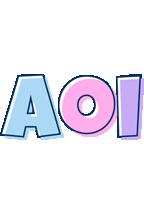 Aoi pastel logo