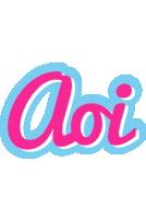 Aoi popstar logo