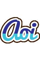 Aoi raining logo