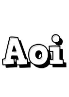 Aoi snowing logo
