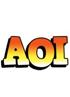 Aoi sunset logo