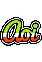 Aoi superfun logo