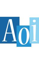 Aoi winter logo