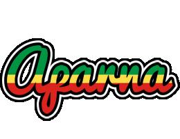 Aparna african logo