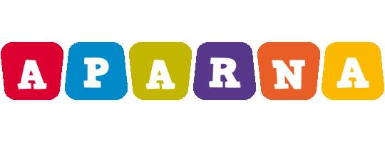 Aparna daycare logo