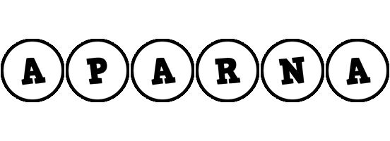 Aparna handy logo