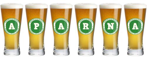 Aparna lager logo