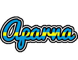 Aparna sweden logo