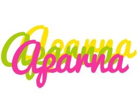 Aparna sweets logo