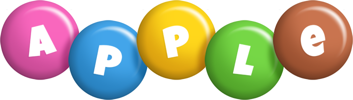 Apple candy logo
