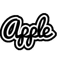 Apple chess logo