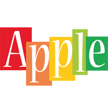 Apple colors logo