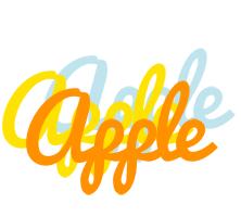 Apple energy logo