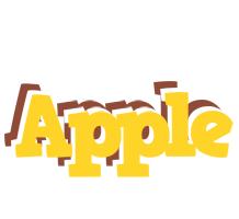 Apple hotcup logo
