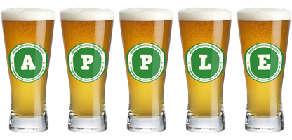 Apple lager logo
