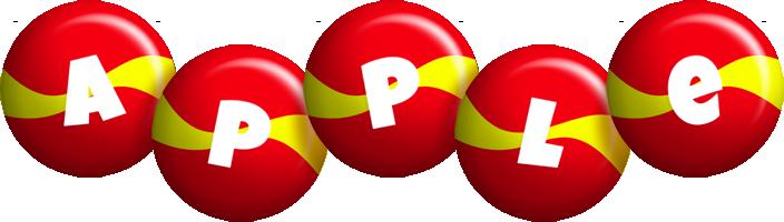 Apple spain logo