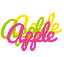 Apple sweets logo