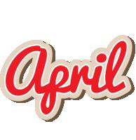 April chocolate logo