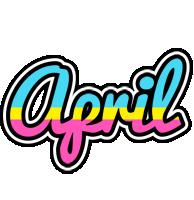 April circus logo