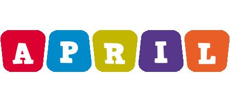 April daycare logo