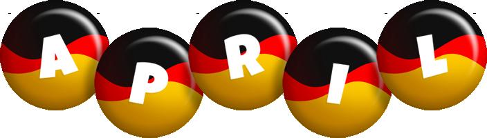 April german logo