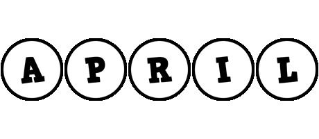 April handy logo