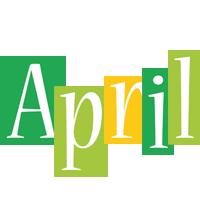 April lemonade logo