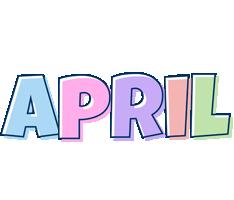 April pastel logo