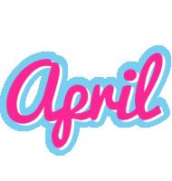 April popstar logo