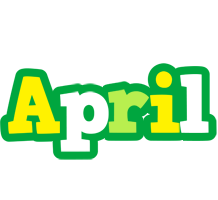 April soccer logo