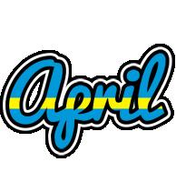 April sweden logo