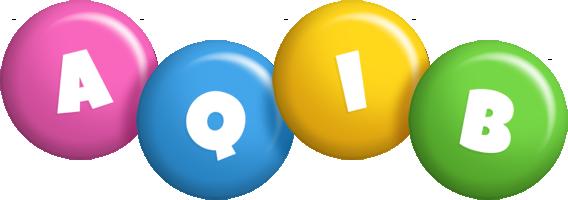 Aqib candy logo