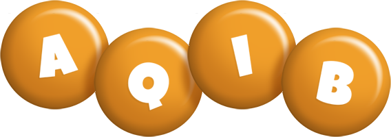 Aqib candy-orange logo