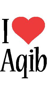 Aqib i-love logo